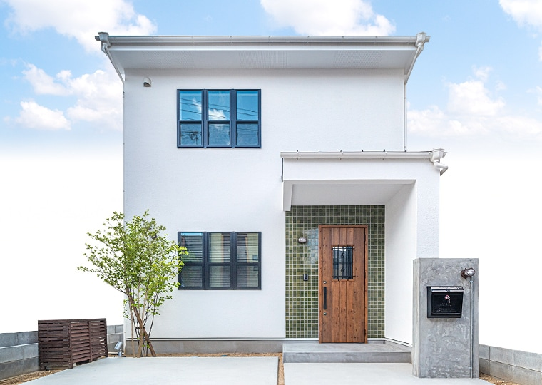 自由なデザインのブルックリンテイストの家イメージ